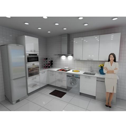 Cocina roma barata modular recta con altos de 90 y - Encimera cocina barata ...