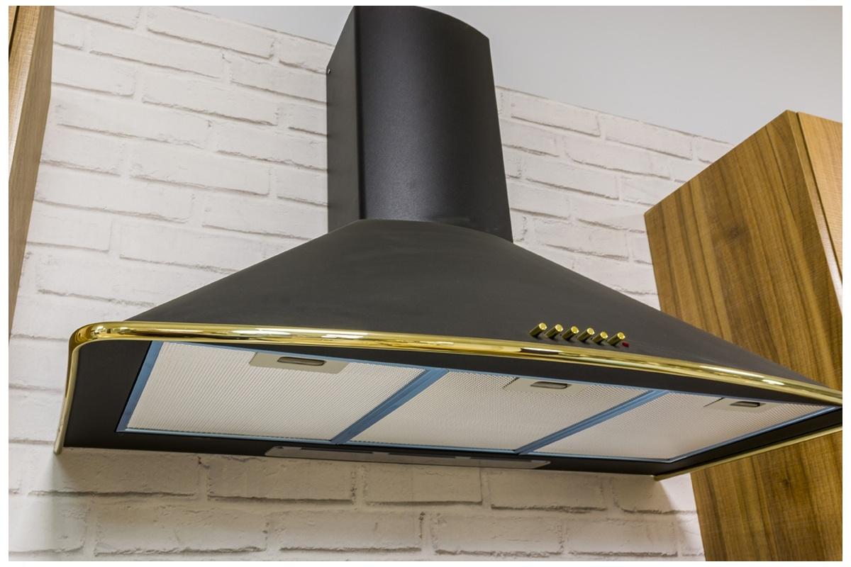 Campana cocina rustica diseo cocina rustica columna - Campana extractora rustica ...