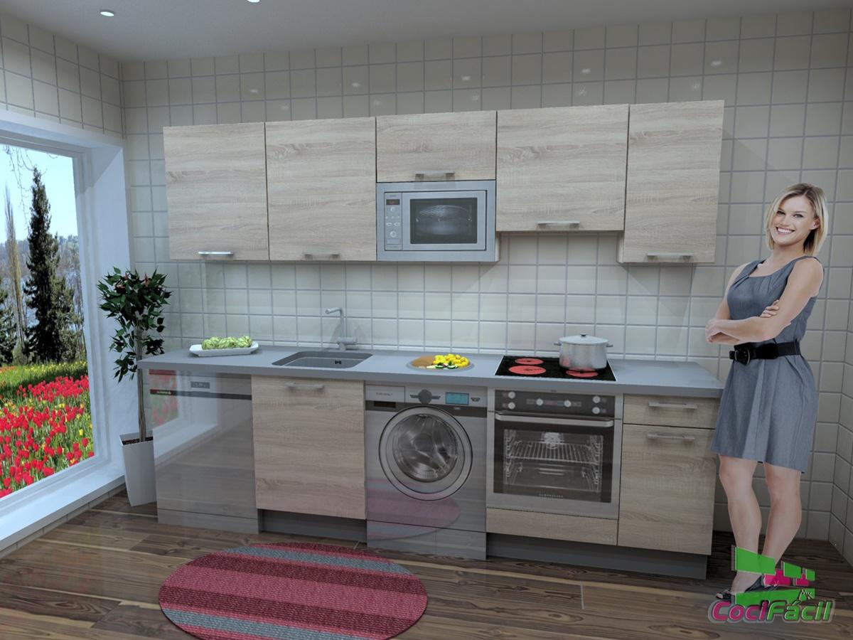 Cocinas Completas Baratas Cocifacil Mk - Cocina-barata