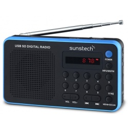 Audio Porttil SUNSTECH RPDS32BL