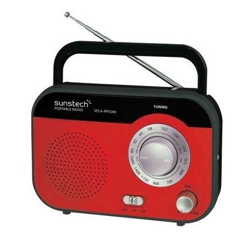 Audio Porttil SUNSTECH RPS560RD