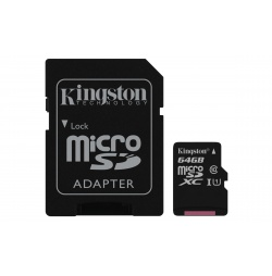Acc. Telefona Informtica KINGSTON SDCS64GB